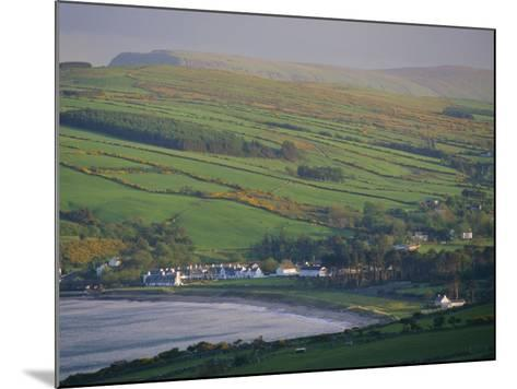 Coast, Hills and Cushendun, County Antrim, Ulster, Northern Ireland, UK, Europe-Gavin Hellier-Mounted Photographic Print