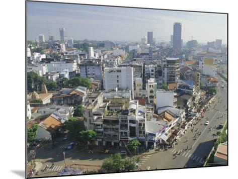 Skyline and Modern Construction, Ho Chi Minh City (Saigon), Vietnam, Indochina, Asia-Gavin Hellier-Mounted Photographic Print