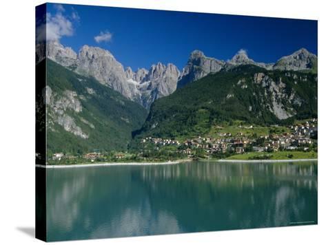 Molveno, Brenta Dolomites, Alto Adige, Italy, Europe-Gavin Hellier-Stretched Canvas Print