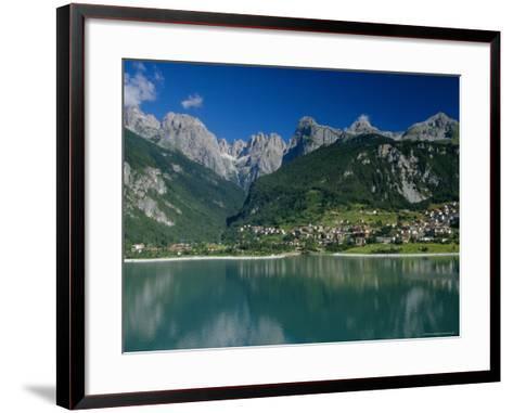 Molveno, Brenta Dolomites, Alto Adige, Italy, Europe-Gavin Hellier-Framed Art Print