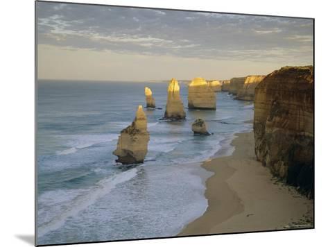 Sea Stacks on the Coast, the Twelve Apostles, Great Ocean Road, Victoria, Australia-Gavin Hellier-Mounted Photographic Print