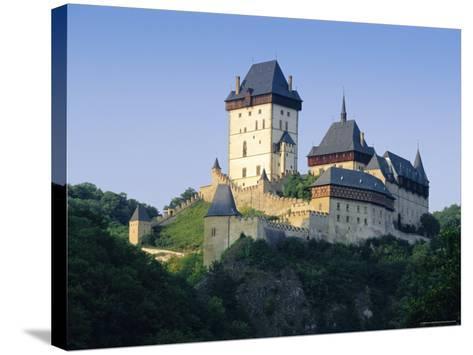 Karlstejn Castle, Central Bohemia, Czech Republic, Europe-Gavin Hellier-Stretched Canvas Print