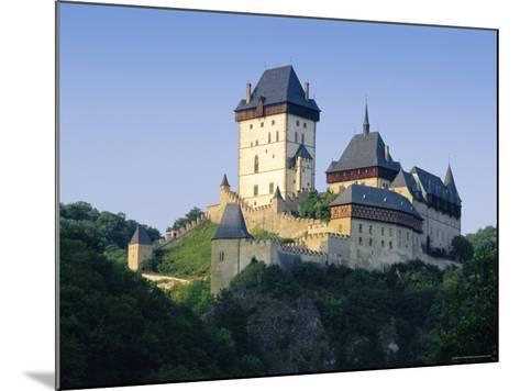 Karlstejn Castle, Central Bohemia, Czech Republic, Europe-Gavin Hellier-Mounted Photographic Print