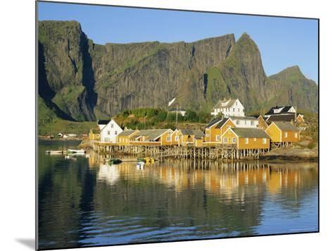 Moskenesoya, Fishing Village on Sakrisoya Island, Lofoten Islands, Nordland, Norway, Scandinavia-Gavin Hellier-Mounted Photographic Print