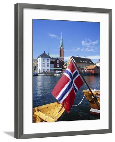 Arendal, Aust-Agder County, South Coast, Norway, Scandinavia-Gavin Hellier-Framed Art Print