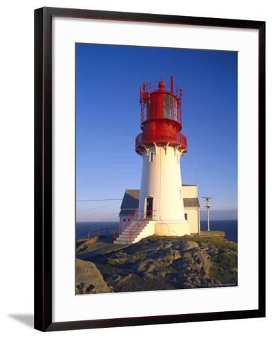 Lindesnes Fyr Lighthouse, Southernmost Point of Norway, South Coast, Norway, Scandinavia, Europe-Gavin Hellier-Framed Art Print