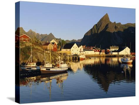 Fishing Village of Hamnoy, Moskenesoya, Lofoten Islands, Norway, Scandinavia, Europe-Gavin Hellier-Stretched Canvas Print