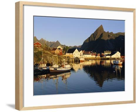 Fishing Village of Hamnoy, Moskenesoya, Lofoten Islands, Norway, Scandinavia, Europe-Gavin Hellier-Framed Art Print