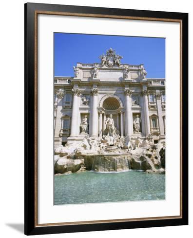 Baroque Style, Trevi Fountain (Fontana Di Trevi), Rome, Lazio, Italy, Europe-Gavin Hellier-Framed Art Print