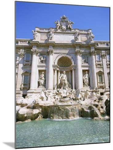 Baroque Style, Trevi Fountain (Fontana Di Trevi), Rome, Lazio, Italy, Europe-Gavin Hellier-Mounted Photographic Print