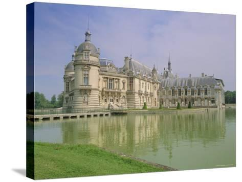 Chateau De Chantilly, Chantilly, Oise, France, Europe-Gavin Hellier-Stretched Canvas Print