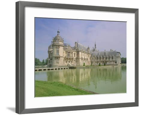 Chateau De Chantilly, Chantilly, Oise, France, Europe-Gavin Hellier-Framed Art Print
