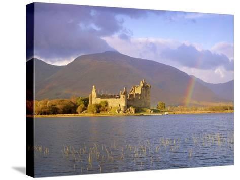 Kilchurn Castle and Loch Awe, Highlands Region, Scotland, UK, Europe-Gavin Hellier-Stretched Canvas Print