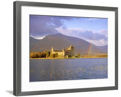Kilchurn Castle and Loch Awe, Highlands Region, Scotland, UK, Europe-Gavin Hellier-Framed Art Print