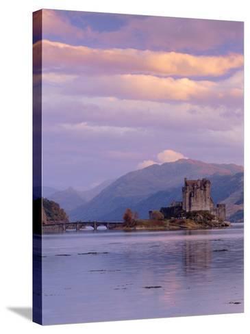 Eilean Donan (Eilean Donnan) Castle, Dornie, Highlands Region, Scotland, UK, Europe-Gavin Hellier-Stretched Canvas Print