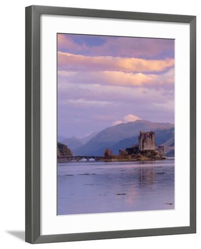 Eilean Donan (Eilean Donnan) Castle, Dornie, Highlands Region, Scotland, UK, Europe-Gavin Hellier-Framed Art Print