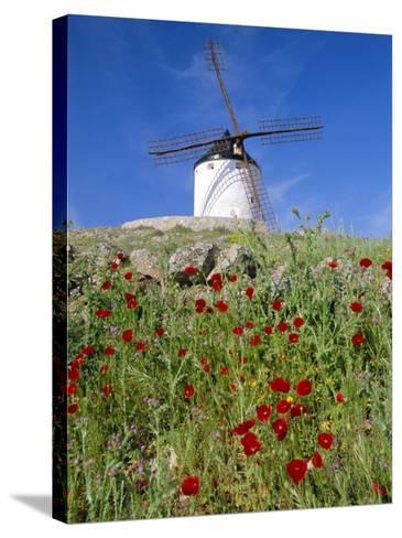 Windmill in Consuegra, Castilla La Mancha, Spain-Gavin Hellier-Stretched Canvas Print