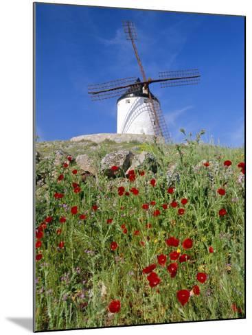 Windmill in Consuegra, Castilla La Mancha, Spain-Gavin Hellier-Mounted Photographic Print