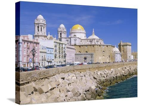 Cadiz Cathedral, Cadiz, Andalucia, Spain-Gavin Hellier-Stretched Canvas Print