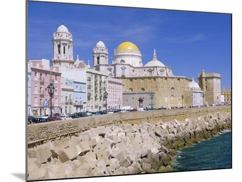 Cadiz Cathedral, Cadiz, Andalucia, Spain-Gavin Hellier-Mounted Photographic Print