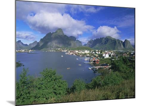 Village of Reine on Moskenesoya, Lofoten Islands, Nordland, Norway, Scandinavia, Europe-Gavin Hellier-Mounted Photographic Print