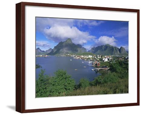 Village of Reine on Moskenesoya, Lofoten Islands, Nordland, Norway, Scandinavia, Europe-Gavin Hellier-Framed Art Print