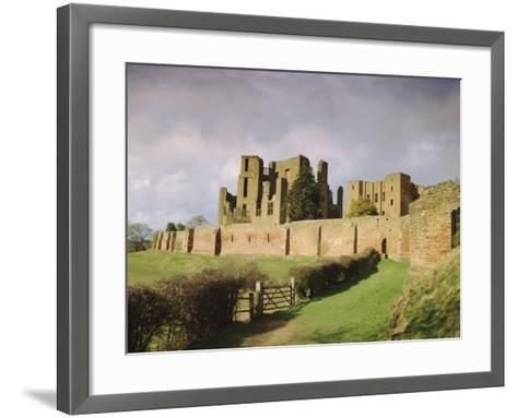 Kenilworth Castle, Warwickshire, England, UK, Europe-David Hughes-Framed Art Print