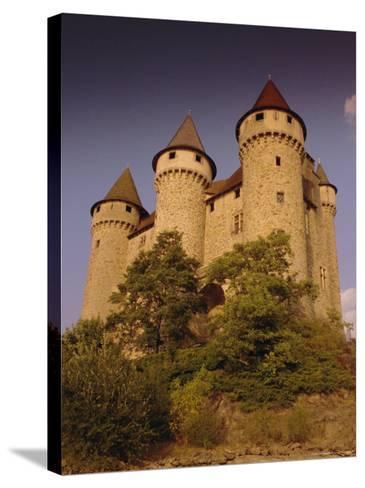 Chateau De Val, Bort-Les-Orgues, France, Europe-David Hughes-Stretched Canvas Print