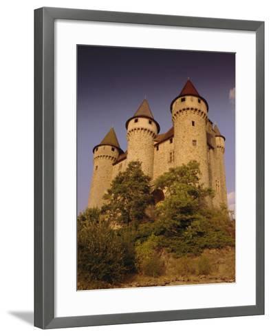 Chateau De Val, Bort-Les-Orgues, France, Europe-David Hughes-Framed Art Print