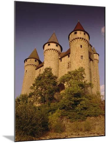 Chateau De Val, Bort-Les-Orgues, France, Europe-David Hughes-Mounted Photographic Print