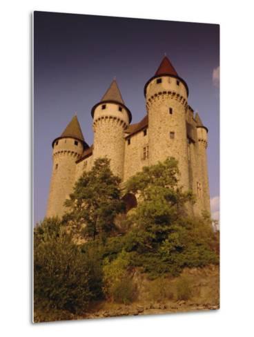 Chateau De Val, Bort-Les-Orgues, France, Europe-David Hughes-Metal Print