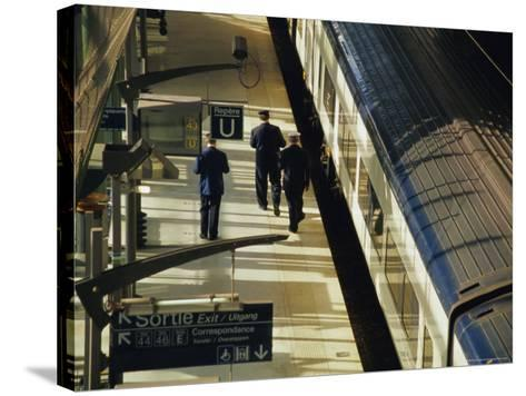 Lille Europe Station, Euralille, Lille, Nord, France, Europe-David Hughes-Stretched Canvas Print