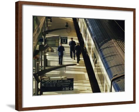 Lille Europe Station, Euralille, Lille, Nord, France, Europe-David Hughes-Framed Art Print