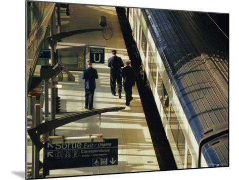 Lille Europe Station, Euralille, Lille, Nord, France, Europe-David Hughes-Mounted Photographic Print