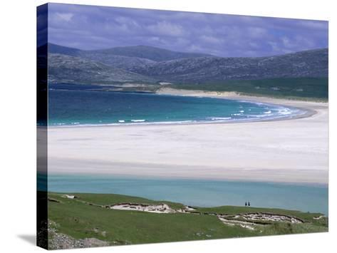 White Shell-Sand, Scarasta Beach, North West Coast of South Harris, Outer Hebrides, Scotland, UK-Anthony Waltham-Stretched Canvas Print