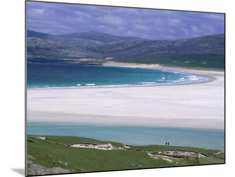 White Shell-Sand, Scarasta Beach, North West Coast of South Harris, Outer Hebrides, Scotland, UK-Anthony Waltham-Mounted Photographic Print