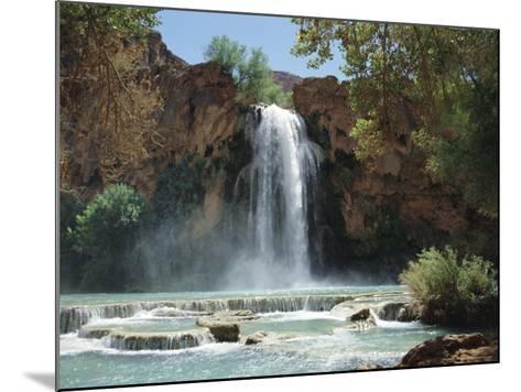 Harasu Falls, Grand Canyon, Arizona, USA-Anthony Waltham-Mounted Photographic Print