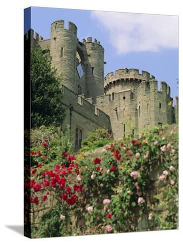 Warwick Castle, Warwick, Warwickshire, England, UK, Europe-G Richardson-Stretched Canvas Print