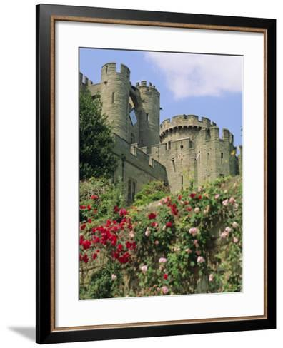 Warwick Castle, Warwick, Warwickshire, England, UK, Europe-G Richardson-Framed Art Print