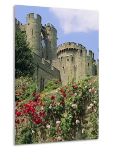 Warwick Castle, Warwick, Warwickshire, England, UK, Europe-G Richardson-Metal Print