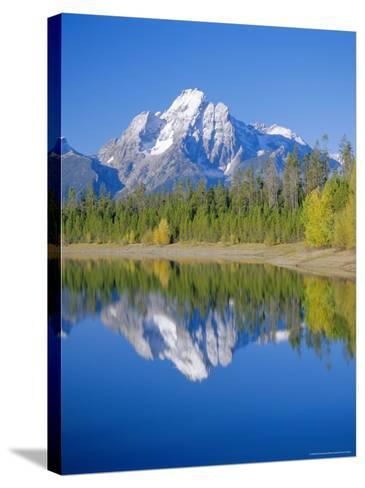 Jackson Lake, Colter Bay, Grand Teton National Park, Wyoming, USA-Rolf Richardson-Stretched Canvas Print