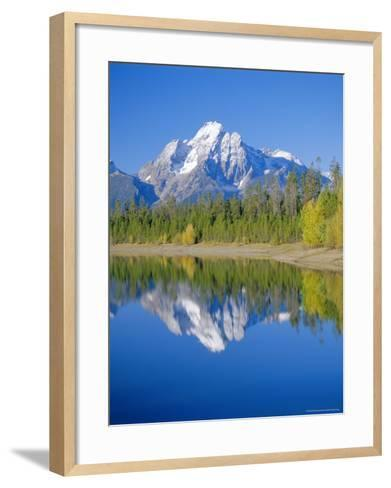 Jackson Lake, Colter Bay, Grand Teton National Park, Wyoming, USA-Rolf Richardson-Framed Art Print