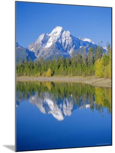Jackson Lake, Colter Bay, Grand Teton National Park, Wyoming, USA-Rolf Richardson-Mounted Photographic Print