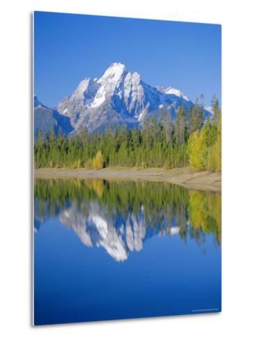 Jackson Lake, Colter Bay, Grand Teton National Park, Wyoming, USA-Rolf Richardson-Metal Print