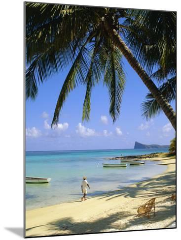Beach, Cap Malheureux, Mauritius-G Richardson-Mounted Photographic Print