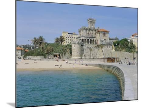 The Beach, Estoril,Costa De Lisboa, Portugal, Europe-G Richardson-Mounted Photographic Print