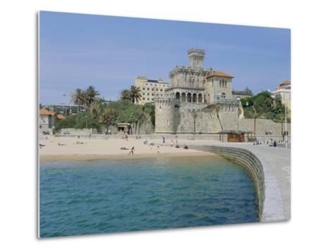 The Beach, Estoril,Costa De Lisboa, Portugal, Europe-G Richardson-Metal Print