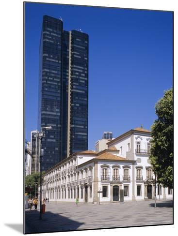 Praca 15 November, Rio De Janeiro, Brazil-G Richardson-Mounted Photographic Print