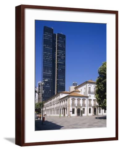 Praca 15 November, Rio De Janeiro, Brazil-G Richardson-Framed Art Print