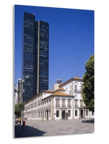 Praca 15 November, Rio De Janeiro, Brazil-G Richardson-Metal Print